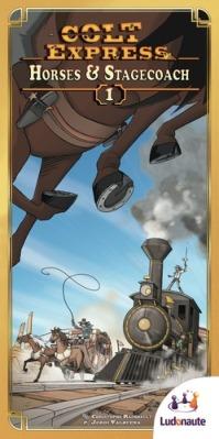 Colt Express Horses & Stagecoach