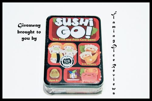 Sushi Go Giveaway