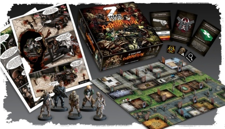 Photo from the Z War One Kickstarter Campaign page