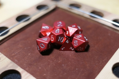 Photo from the Zucati Dice Kickstarter Campaign Page