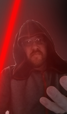 Darth Mattikus tries on his Galaxy Hoodie for the first time and instantly feels a surge of power!!!