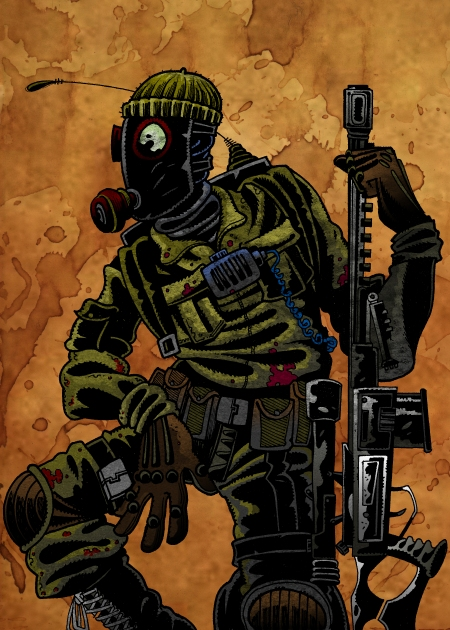 The Prepper, one of the Survivors that players can rescue and add to their area. Survivors grant players a variety of abilities.