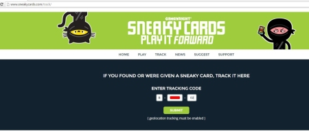 Sneaky Cards Tracking