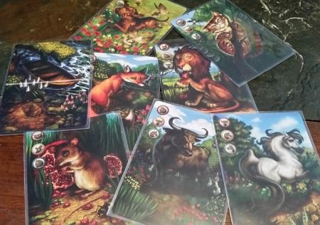 Ravenous River Cards