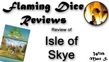 Isle of Skye Opening Screen