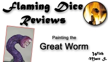 Painting Great Worm